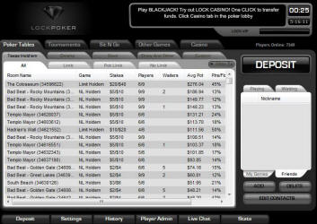 Is lock poker paying us players